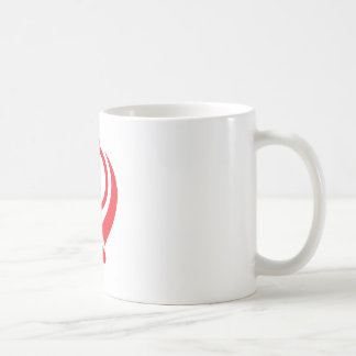 Sikh Khanda Red Basic White Mug