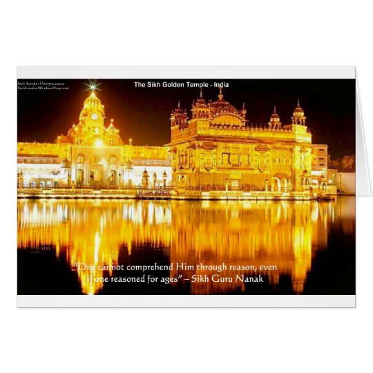 Sikh The Golden Temple In India Gifts &