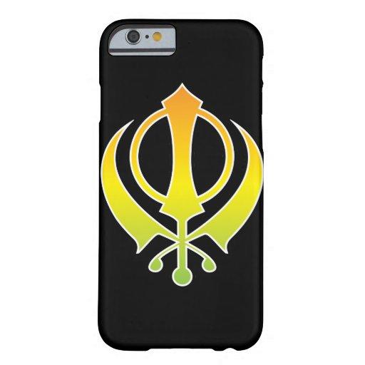 Sikhism Khanda Logo iPhone 6 case