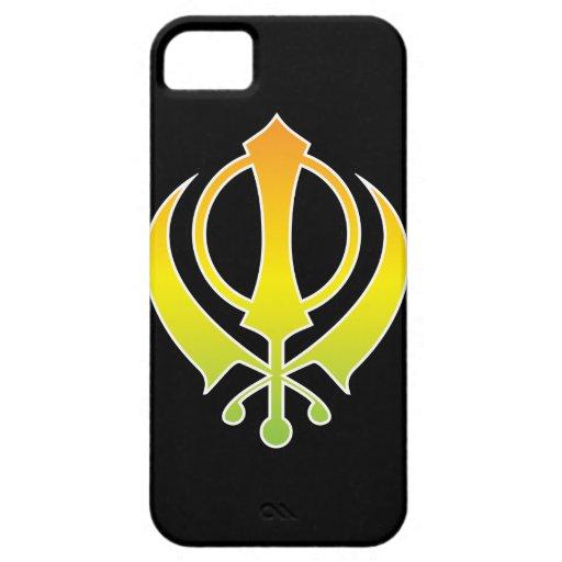 Sikhism Khanda Logo iPhone Case iPhone 5 Cases
