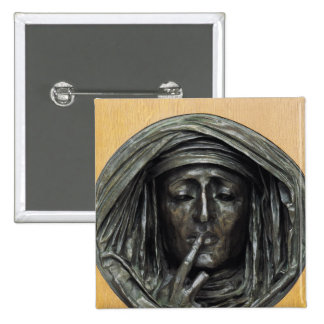 Silence, 1848 15 cm square badge
