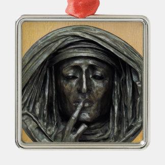 Silence, 1848 christmas ornament