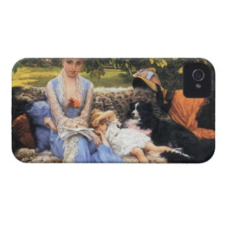 Silence by James Tissot iPhone 4 Case-Mate Case