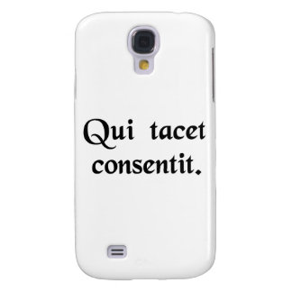 Silence gives consent samsung galaxy s4 cases