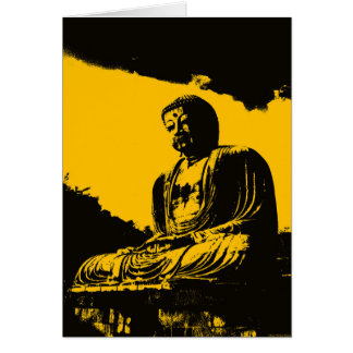 """""""Silence Is Golden"""" Greeting Card"""