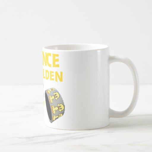 Silence Is Golden Rubber Ducky Duct Tape Humor Coffee Mug