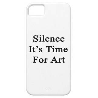 Silence It's Time For Art iPhone 5 Case