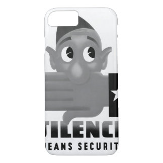 Silence means security. 1944_War image iPhone 7 Case