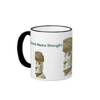 Silence Means Strength! Ringer Mug