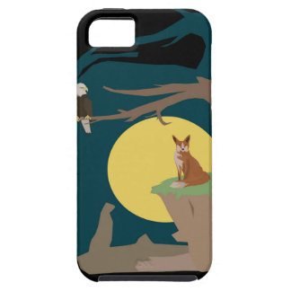 Silence Night by the Fox and the Eagle iPhone 5 Case