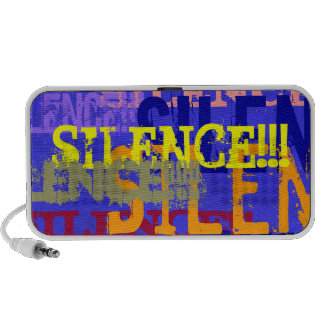 Silence!!! (Out Loud) Speaker System