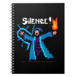 Silence!  The Head Wizard Has Spoken Spiral Notebooks