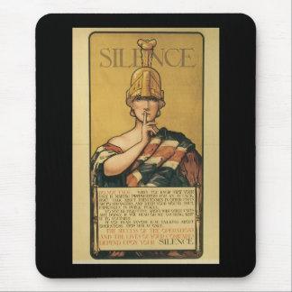 Silence World War II Mousepad