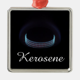 Silent burner   Kerosene Pressure Stove Silver-Colored Square Decoration