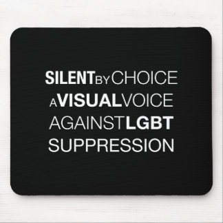 Silent By Choice Dark Mousepad