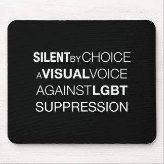 Silent By Choice Dark Mousepad