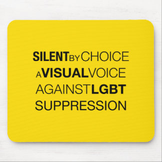Silent By Choice Light Mousepad