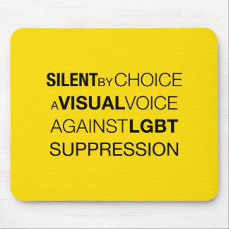 Silent By Choice Light Mousepad