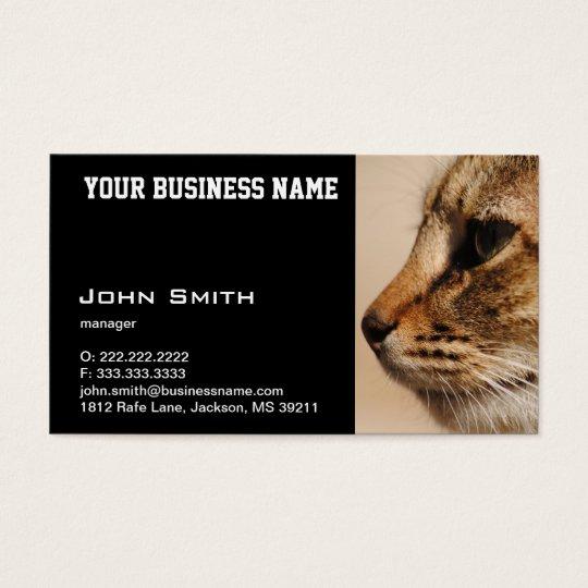 Silent Cat business card