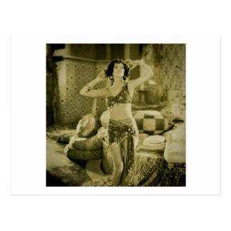 Silent Film Era Beauty Sterevoview Card Postcard
