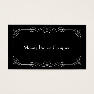 Silent Film Intertitle Business Card