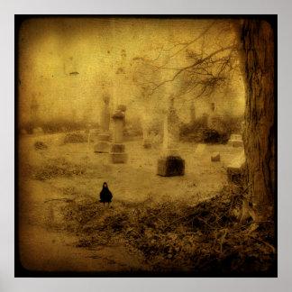 Silent Graveyard Poster