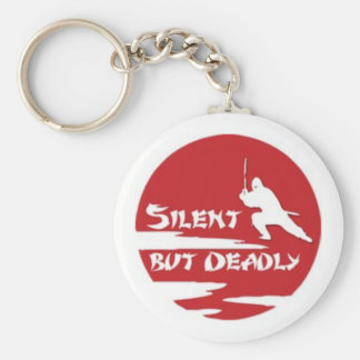 silent key ring