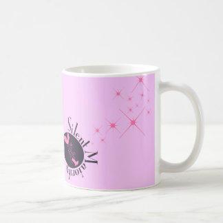 silent majority girl basic white mug