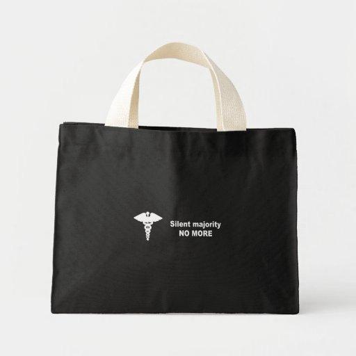 Silent majority no more canvas bags
