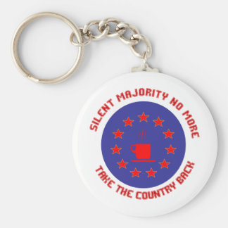 Silent Majority No More Keychains