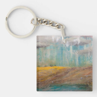 Silent Meadow Key Ring
