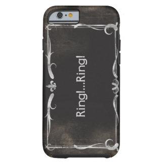 Silent Movie Title iPhone 6 case Vintage Grunge Tough iPhone 6 Case