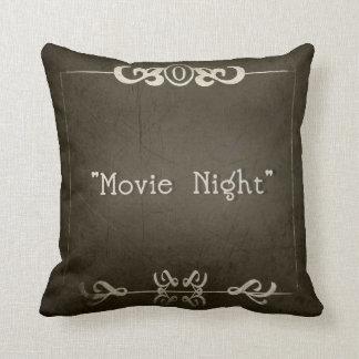 "SILENT MOVIES ""Movie Night"" Cushion"