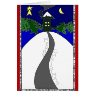 """Silent Night"" Christmas card by Zoltan Buday"