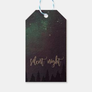 Silent Night - Christmas Gift Tags
