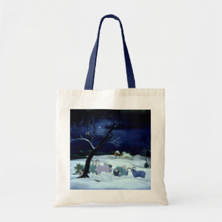 Silent Night Holy Night 1995 Tote Bag