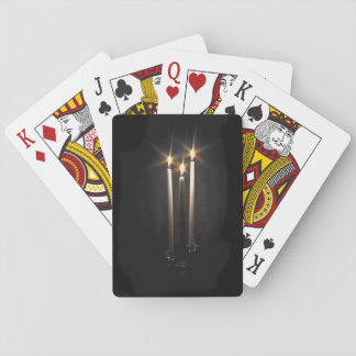 Silent Night Holy Night Trinity Candle Playing Cards