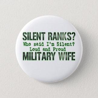 silent ranks 6 cm round badge