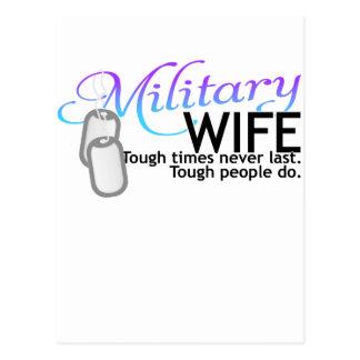 Silent Ranks-Wife 2 tone Postcard