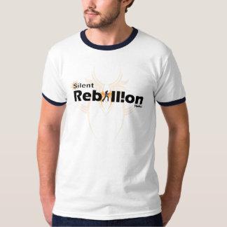 silent rebellion  dark grey tshirt