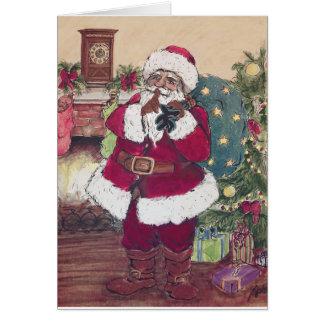 Silent Santa Card