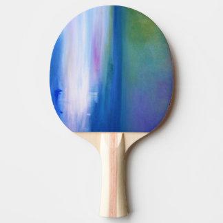Silent Seas Abstract Ping Pong Paddles