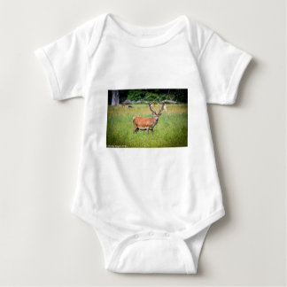 Silent Stag Baby Bodysuit