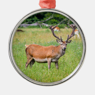 Silent Stag Christmas Ornament