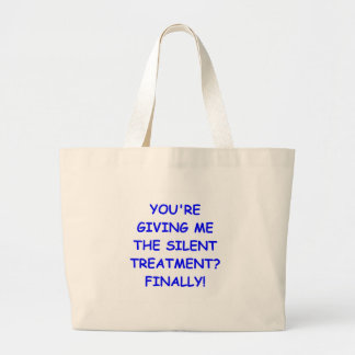 silent treatment bags