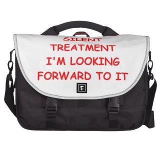 silent treatment bag for laptop