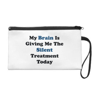 Silent Treatment Wristlet Clutch