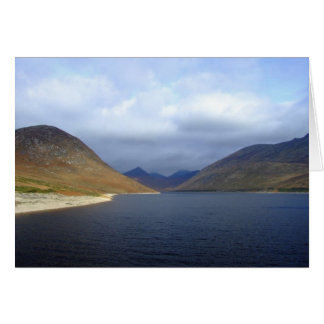 Silent Valley Reservoir - Northern Ireland Greeting Card