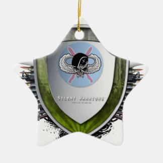 Silent Warriors Mouse mat Christmas Ornament