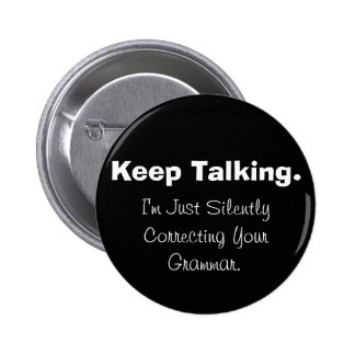 Silently Correcting Your Grammar Button